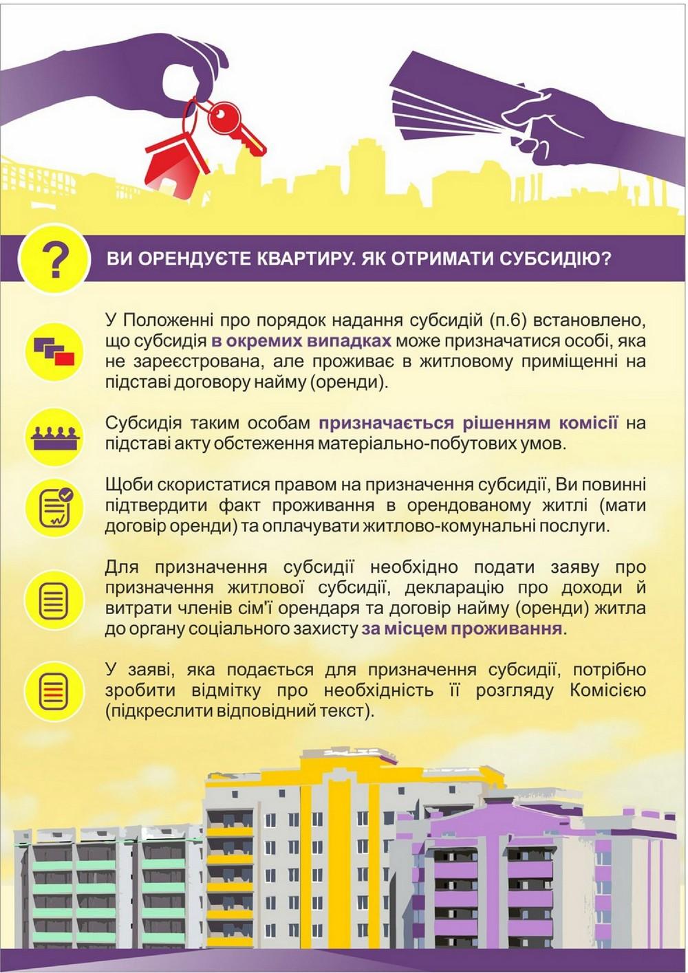 """Деякі актуальні питання щодо житлових субсидій 4 (Інформацію взято із сайту """"Інститут місцевого розвитку"""")"""